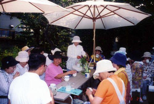 公民館 herb tea.JPG