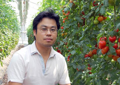 農業者人材育成の助っ人、田中進さん